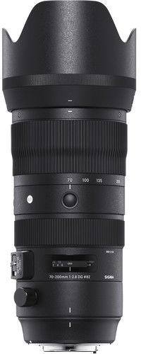 Sigma S 70-200mm f/2.8 DG OS HSM - obiektyw zmiennoogniskowy do Nikon F Sigma S 70-200mm f/2.8 DG OS HSM / Nikon / Teleobiektyw Zoom