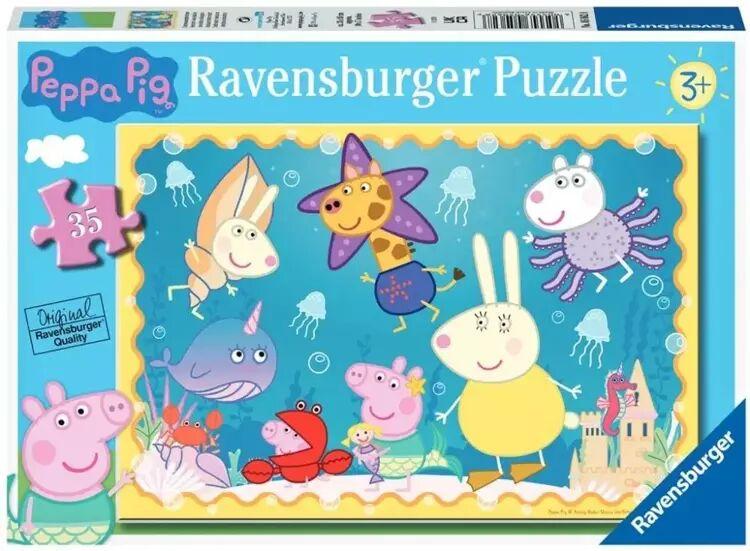 Puzzle 35 Świnka Peppa. Podwodny świat - Ravensburger