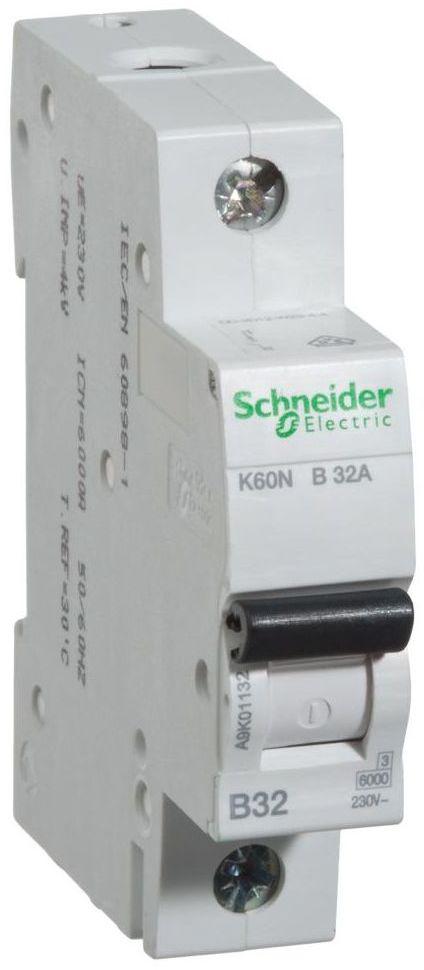 Wyłącznik nadprądowy K60N - B32 - 1 32 A SCHNEIDER ELECTRIC