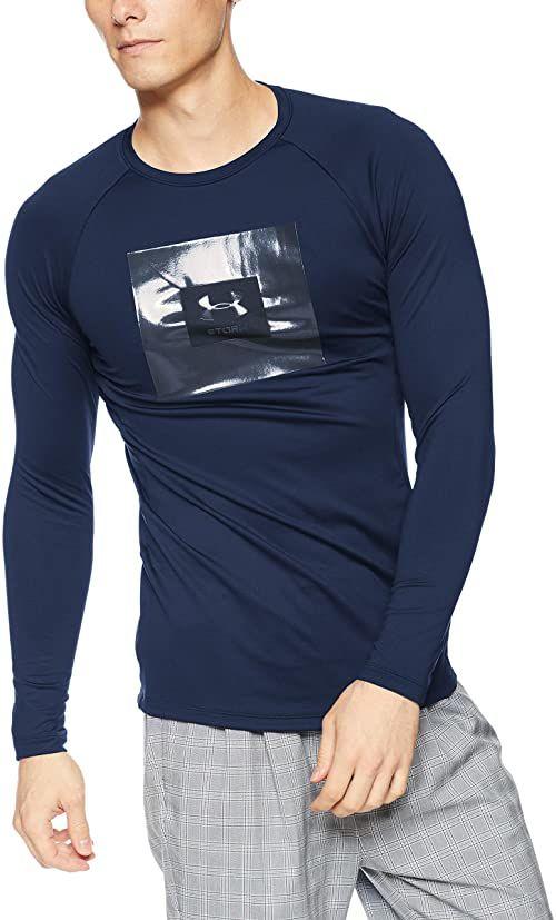 Under Armour Ua Stormcyclone Cg koszulka męska z długim rękawem Academy L