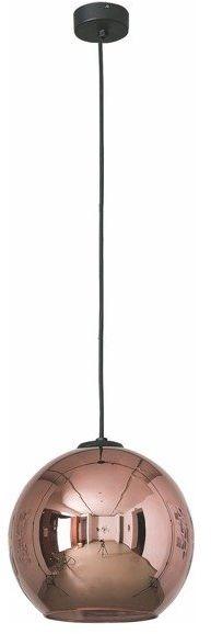 Lampa wisząca zwis kula POLARIS I miedziany śr. 25cm - miedziany