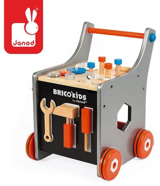 Janod wózek warsztat magnetyczny z narzędziami brico kids