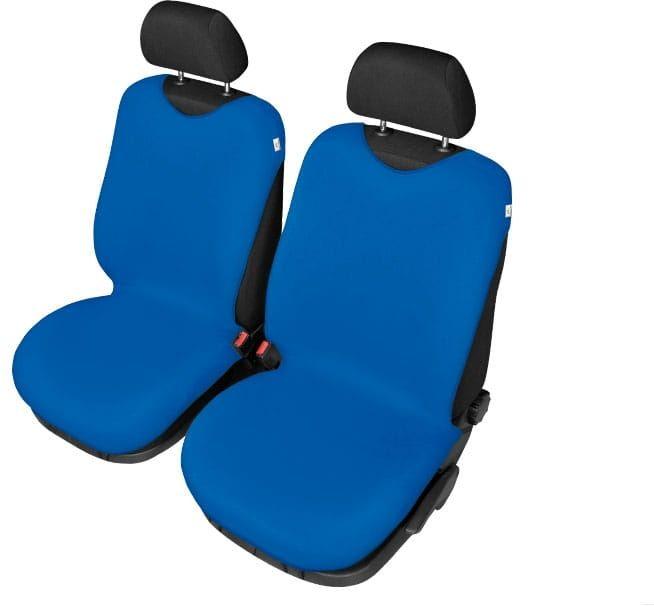 Pokrowce koszulki SHIRT COTTON na przednie fotele, niebieskie