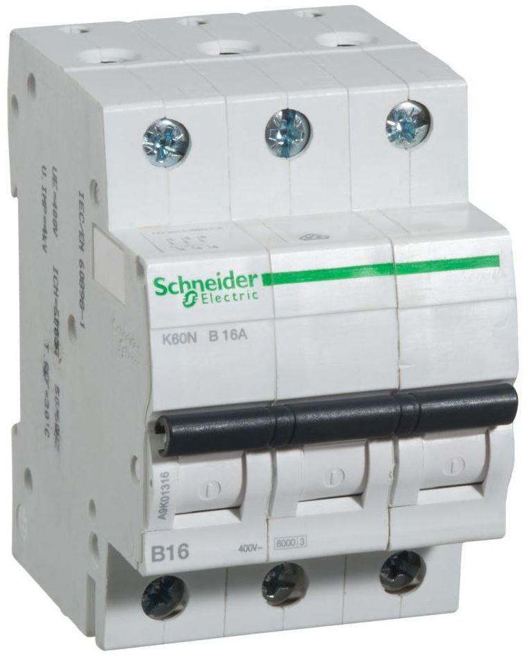 Wyłącznik nadprądowy K60N - B16 - 3 16 A SCHNEIDER ELECTRIC