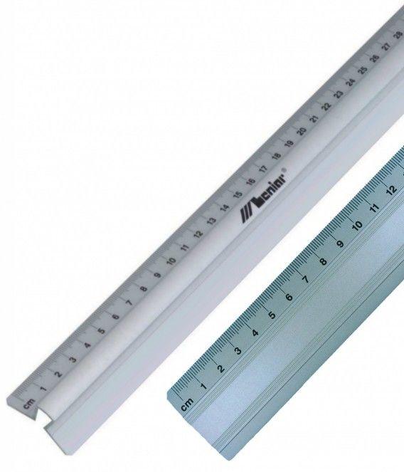 Linijka aluminiowa Leniar - 30 cm