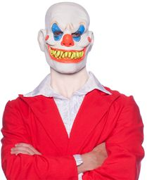 Folat 23823 Horror lateksowa maska na Halloween, wielokolorowa