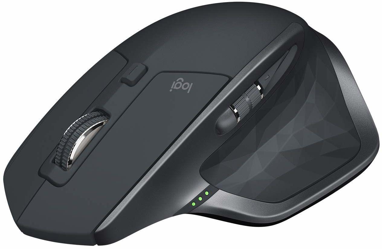 Logitech Mx Master 2S Wireless Mouse, Nowa Mistrzyni Możliwości, Wersja 2020, Pc/Mac/Chromebook/Ipad - Szary,910-005966