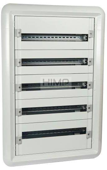 Rozdzielnica podtynkowa 5x24 modułowa 5R IP30 XL3 160 Legrand 020065