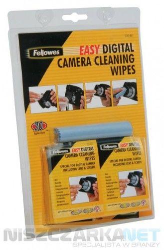 Chusteczki do czyszczenia cyfrowych aparatów fotograficznych Fellowes