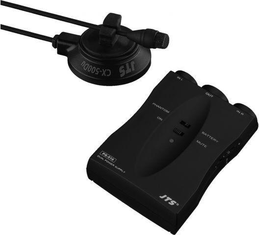 JTS CX-500DUSET Podwójny mikrofon elektretowy
