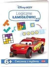 Disney Uczy Auta Logiczne łamigłówki