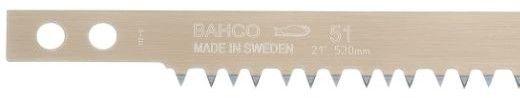 brzeszczot do pił kabłąkowych, ramowych do cięcia drewna suchego 21'', 530 mm BAHCO [51-21]