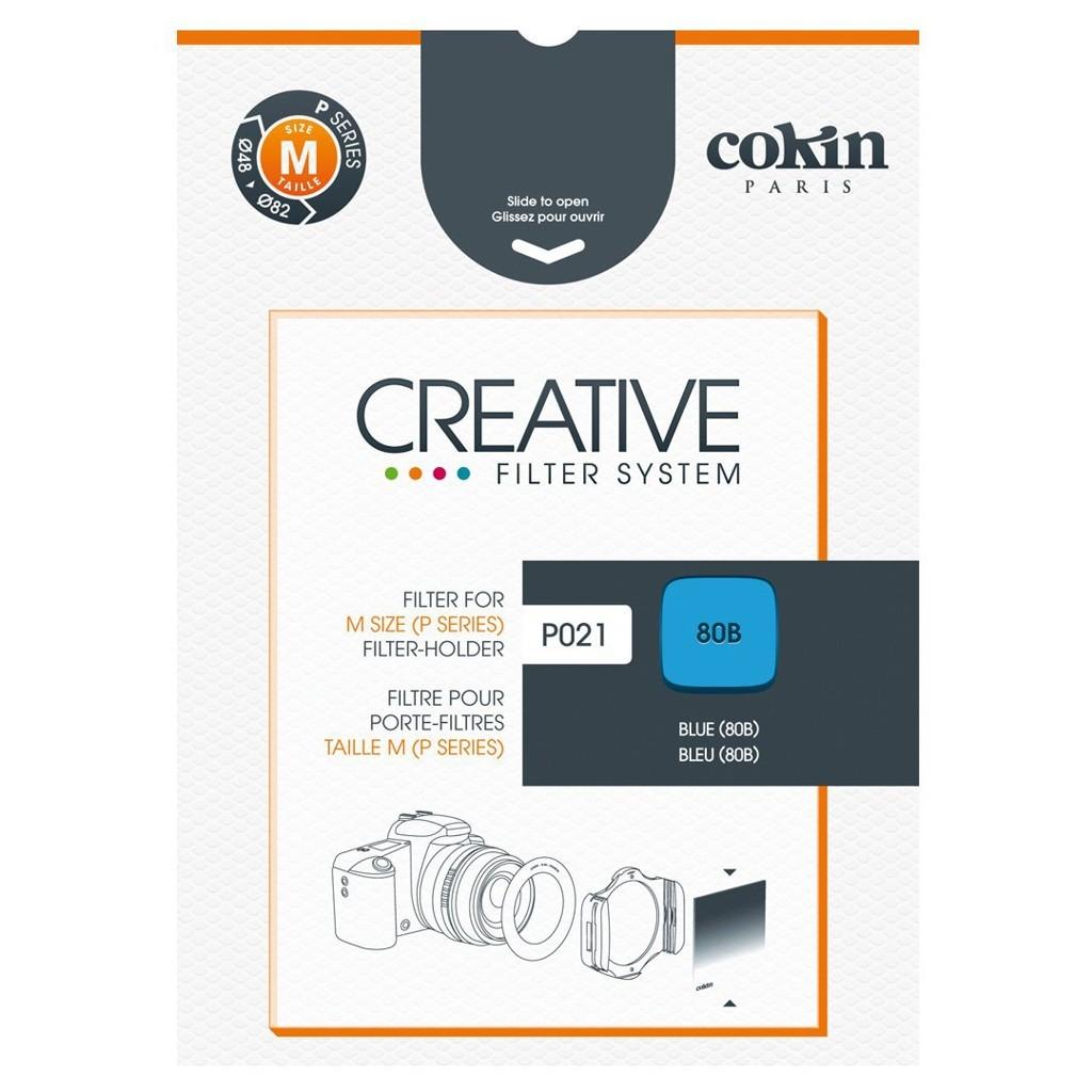Filtr Cokin P021 - korekcyjny niebieski 80B z serii P - WYSYŁKA W 24H