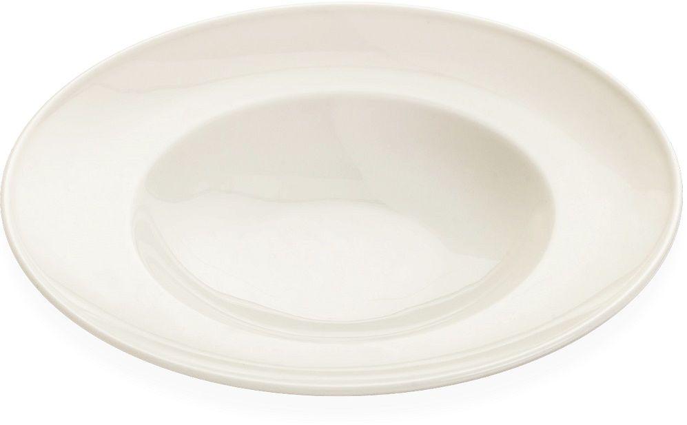 Talerz do makaronu porcelanowy CREMA