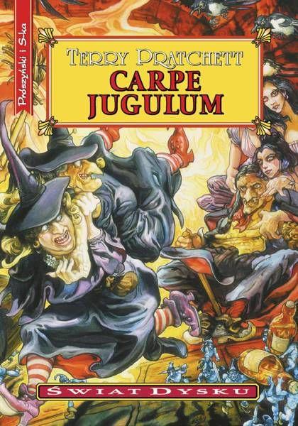 Świat Dysku. Carpe Jugulum (wyd. 2021) - Terry Pratchett
