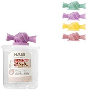 Habi H H.21  185 plastikowa nasadka karmel, 750 cm , słoik polistyrenowy, wielokolorowa