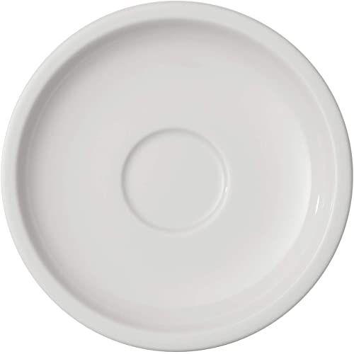 Villeroy & Boch 10-4251-1430 Artesano spodek z motywem kwiatowym moko/espresso, 12 cm, porcelana premium, biały