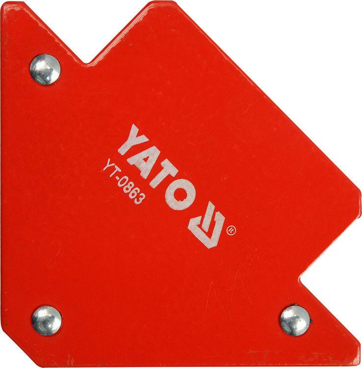 Kątownik spawalniczy Yato magnetyczny 82 x 120 x 13 mm