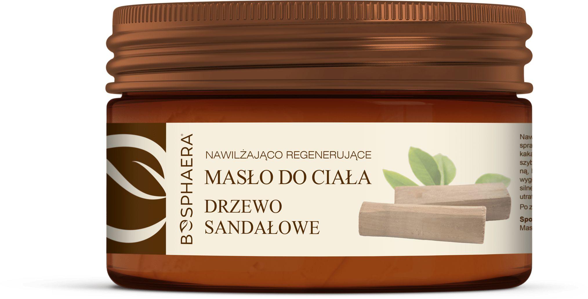 Bosphaera Masło Do Ciała Drzewo Sandałowe 200g