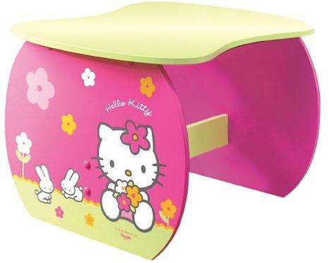 Jemini 711148  Hello Kitty stół, łatwy montaż, wys. 38 x szer. 54 x gł. 45 cm