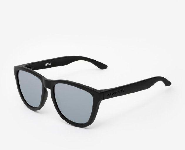 HAWKERS - Modne okulary przeciwsłoneczne Carbon Black Silver One O18TR50