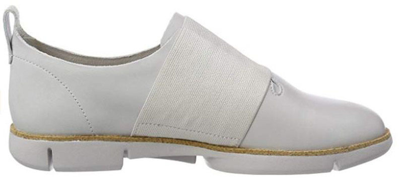 Półbuty damskie Clarks Tri Form Khaki białe261324654