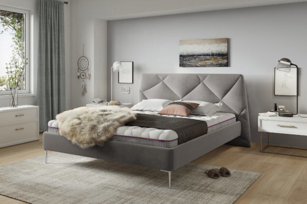 Łóżko tapicerowane DAVOS 140x200 - tapicerka do wyboru!