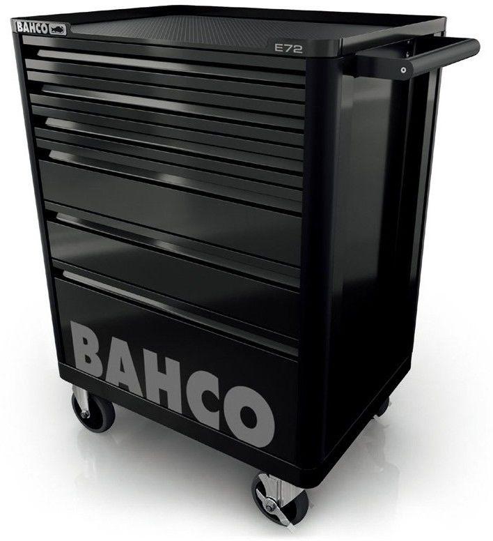 wózek narzędziowy 6-szufladowy z wyposażeniem 214 narzędzi Bahco [1472K6BKFF7SD]