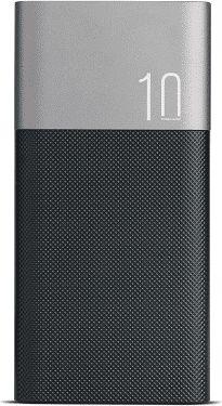 Aluminiowy Powerbank 10000mAh 2x USB 1x Micro USB M555025