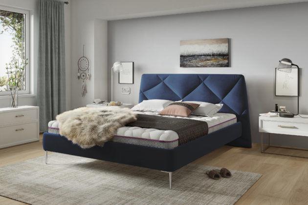 Łóżko tapicerowane DAVOS 180x200 - tapicerka do wyboru!