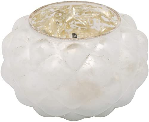 Hill 1975 The Noel Collection średni biały wotywny świecznik, wielokolorowy, jeden rozmiar