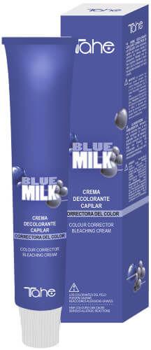 Tahe BLUE MILK kremowy rozjaśniacz do włosów 100ml