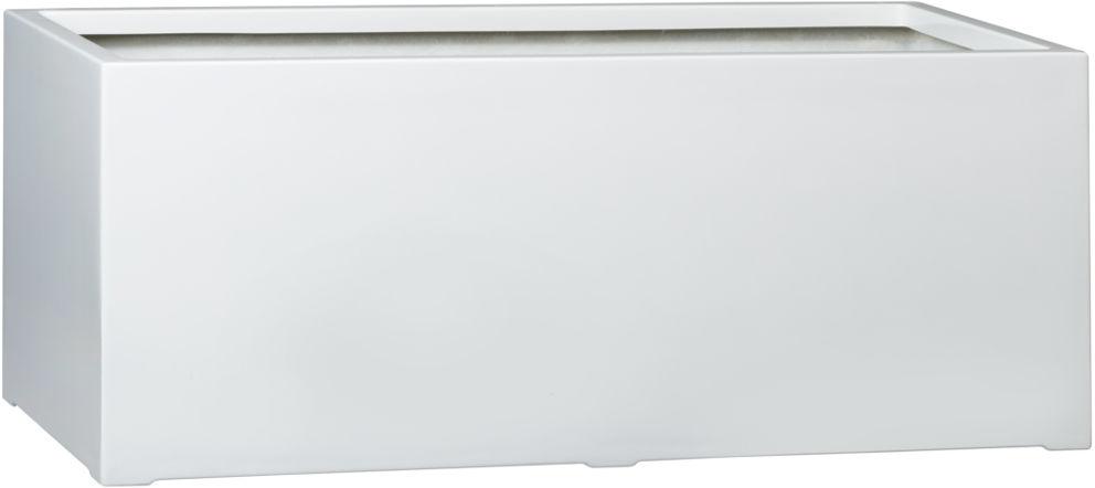 Donica z włókna szklanego D913B biały połysk