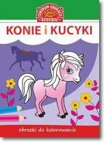 Obrazki do kolorowania. Konie i kucyki