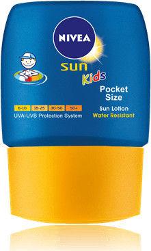 Nivea Sun Kids kieszonkowe mleczko do opalania dla dzieci SPF 50+ 50 ml