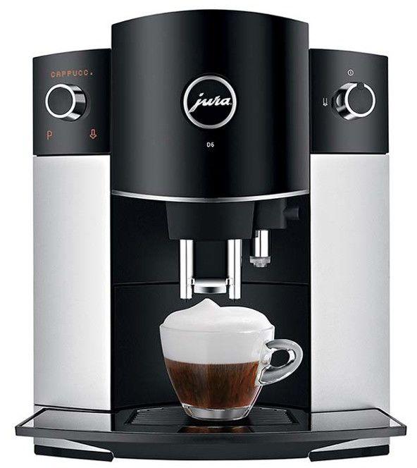 Ekspres do kawy Jura D6 Platinum (15181) --- OFICJALNY SKLEP Jura