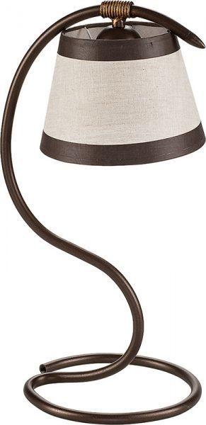 SIGMA Lampka biurkowa ALBA brązowa 19107