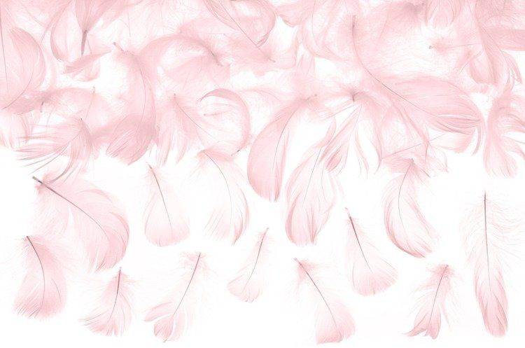 Różowe piórka dekoracyjne 3g PD1-081J