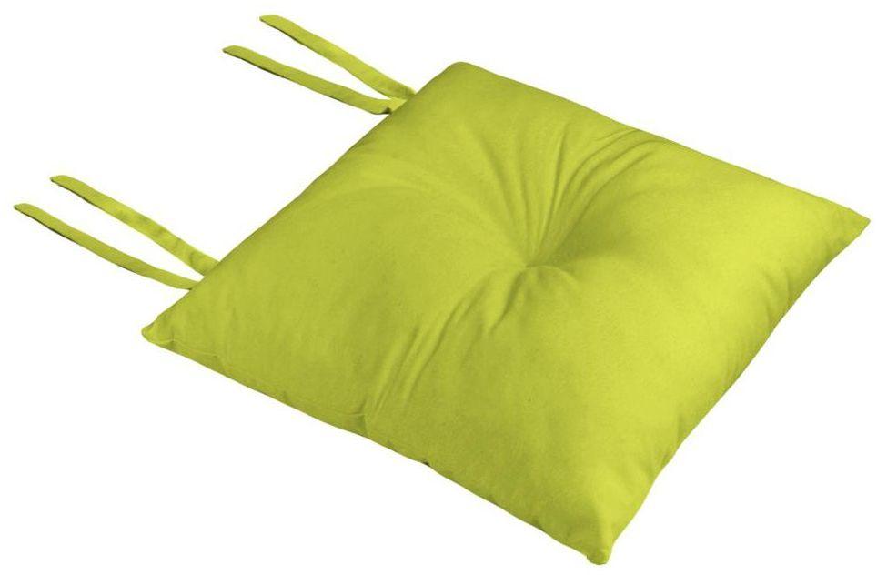 Poduszka na krzesło Silla Loneta zielona 40 x 40 x 8 cm
