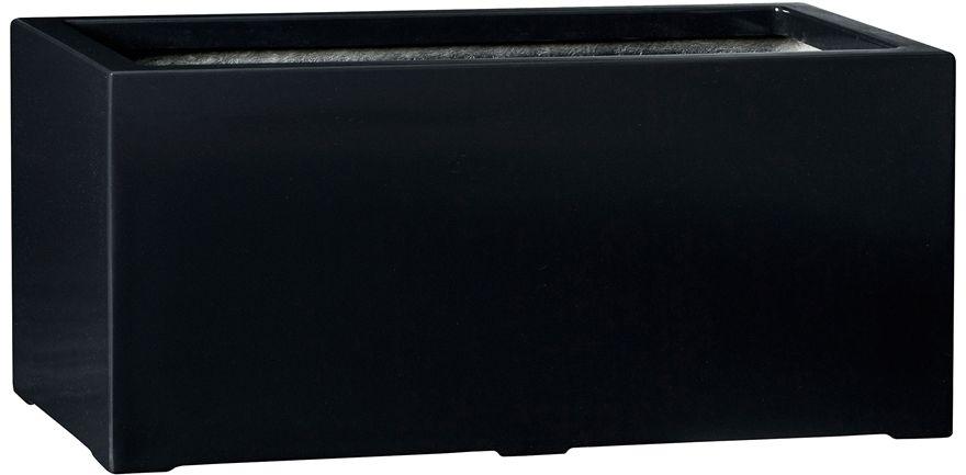 Donica z włókna szklanego D913B czarny połysk