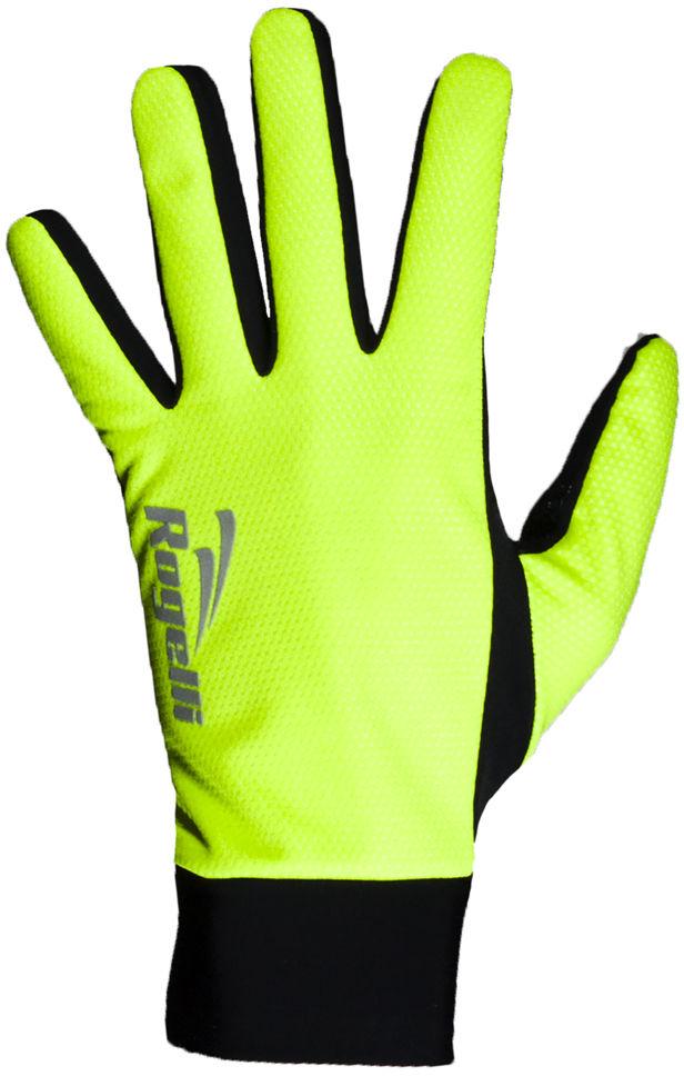 ROGELLI LAVAL cienkie rękawiczki sportowe, membrana 006.104 fluor Rozmiar: S,006.104