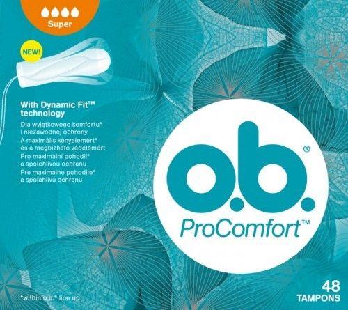 o.b.Tampony ProComfort Super 48szt