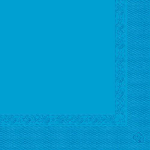 García de Pou 153,18 - Serwetki oznakowanie ekologiczne 2-warstwowe 18 GSM 39 x 39 cm turkusowy niebieski chusteczki - 100 jednostek