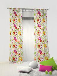 rioma kokardki zasłona przeciwsłoneczna, tkanina, wielokolorowa, 270 x 140 x 3 cm