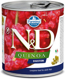 N&D DOG QUINOA DIGESTION ADULT 285G
