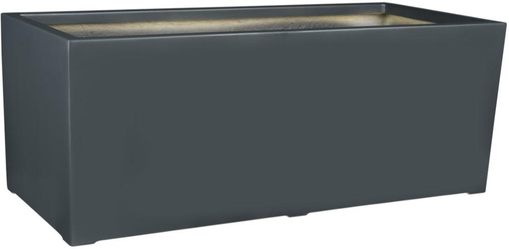 Donica z włókna szklanego D913B antracyt mat