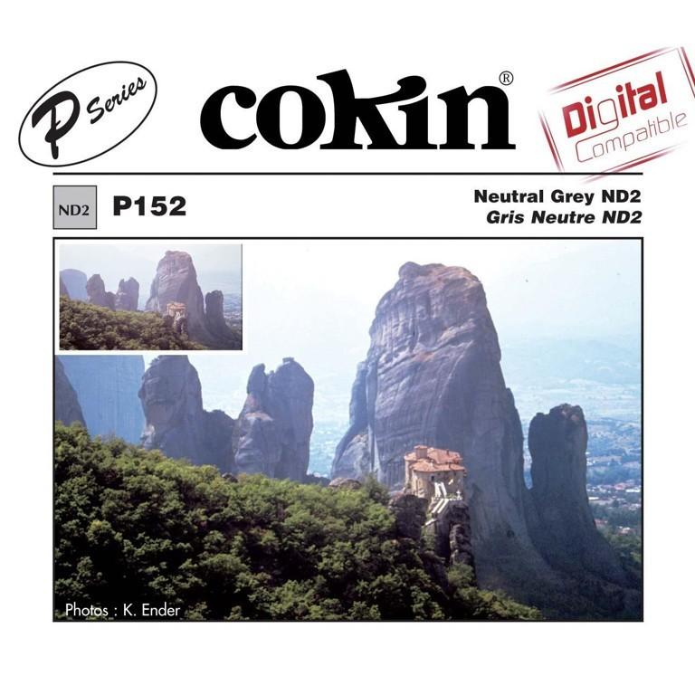 Filtr Cokin P152 - neutralnie szary ND2 z serii P - WYSYŁKA W 24H