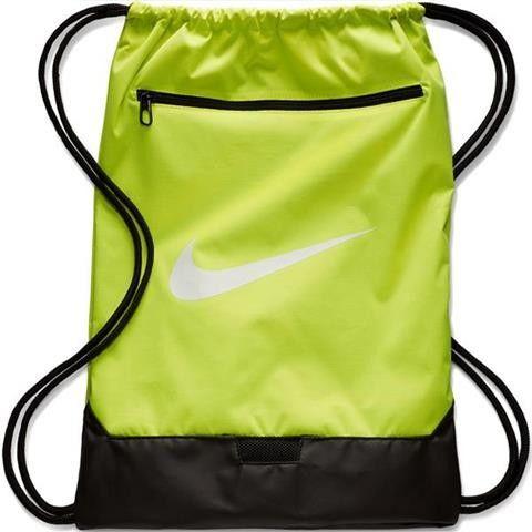 Worek na buty Nike Brasilia 9.0 BA5953 702 limonkowy