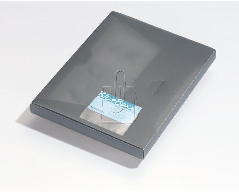 Samoprzylepna kieszonka na wizytówki POCKETFIX 93x62mm na etykietę 57x90mm 10 sztuk 809319