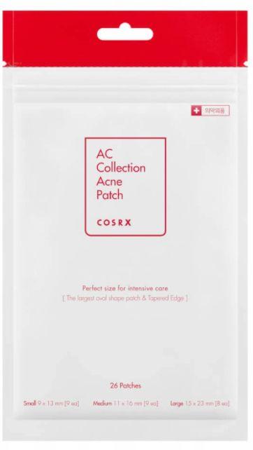 COSRX AC Collection Acne Patch - Wysuszające plastry na wypryski 26 szt.